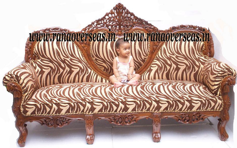 Rana Overseas Manufacturer Supplier And Exporter Wooden Heart Shape Sofa Set 2