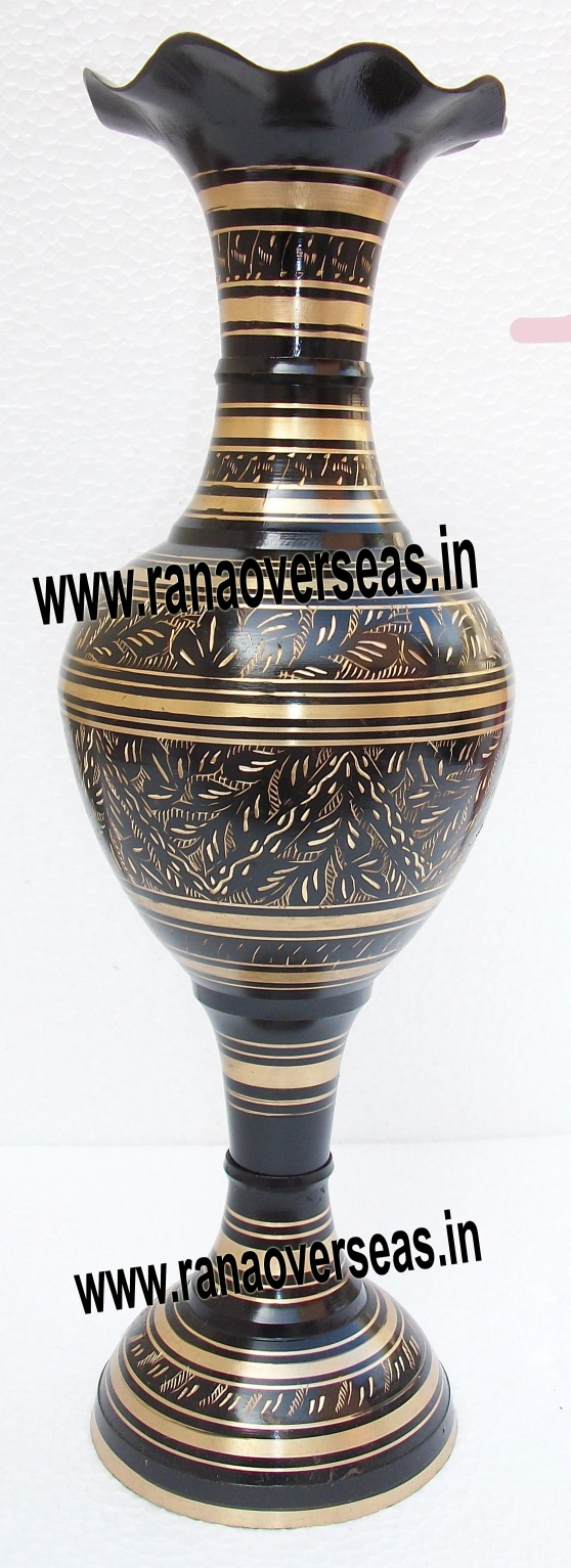Rana overseas manufacturer supplier and exporter flower vases brass flower vase 8 view details reviewsmspy