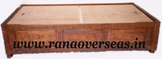 Ranaoverseas@yahoo.com. Sheesham Wood Carved Wooden Diwan Set